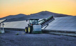 Tractor Solar Brush(Photovoltaic) 1