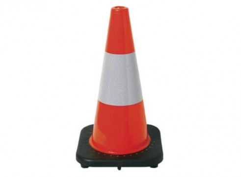 Traffic Cone 450mm Reflective 1