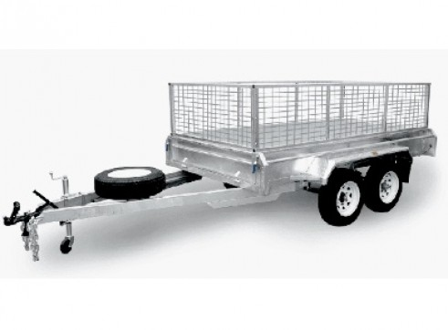 TRAILER - CAGE - LARGE -TANDEM (DUAL AXEL) - 2000 GVM 1