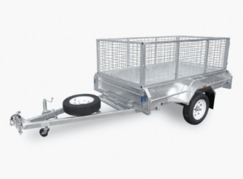 TRAILER - CAGE - SMALL - TANDEM (SINGLE AXEL) - 8X5 1
