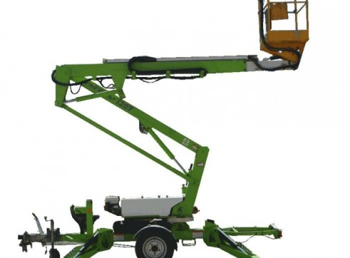 Trailer Mounted Cherry Picker - 12m Nifty 3