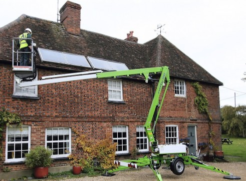 Trailer Mounted Cherry Picker - 12m Nifty 2