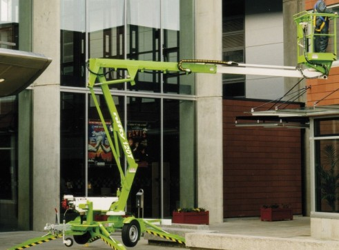 Trailer Mounted Cherry Picker - 12m Nifty 5
