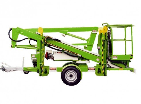 Trailer Mounted Cherry Picker - 12m Nifty 8