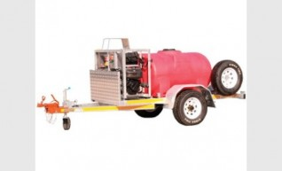 Trailer Mounted Mine Spec Pressure Washers 1