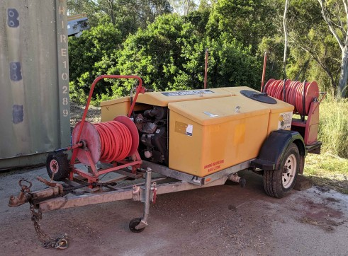 Trailer Mounted Pressure Washer 1