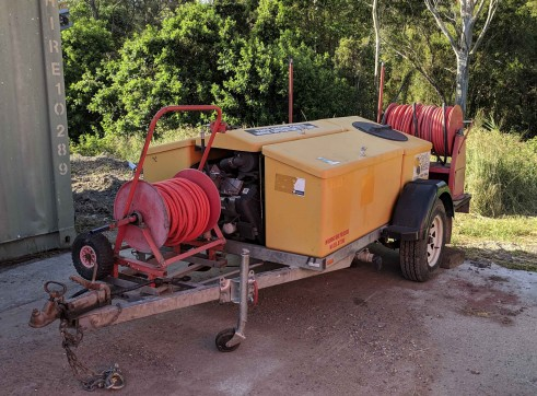 Trailer Mounted Pressure Washer 2