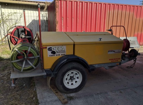 Trailer Mounted Pressure Washer 4