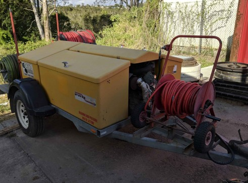 Trailer Mounted Pressure Washer 5