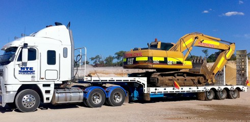 Transport Earthmoving Machinery 3
