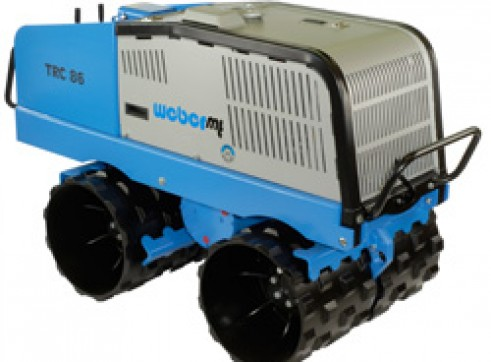 Trench Roller with Remote Control