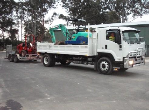 Trencher / Excavator / Tipper Combo 2