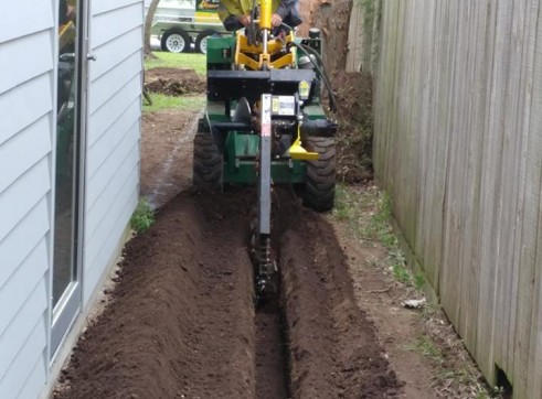 Kanga Mini Digger with Trencher  2