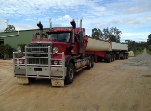 Tri Star or Azmeb Single, B Double or Road Train Side Tippers 1