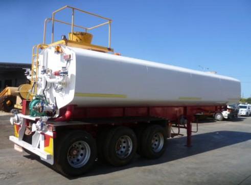 Tristar Triaxle 32KL Semi Water Tanker  1