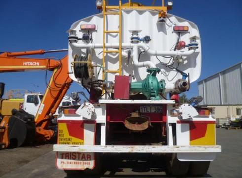 Tristar Triaxle 32KL Semi Water Tanker  2