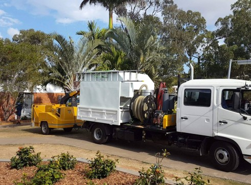 Vacuum Excavation / Hiab / Chipper Truck 1