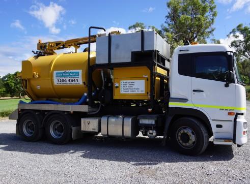 Vacuum Excavation Truck 8000L