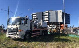 Vacuum excavation truck Hire 1