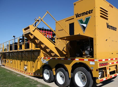 Vermeer R600HC Zone Compliant Solids Control Unit / Drilling Mud Recycler 1