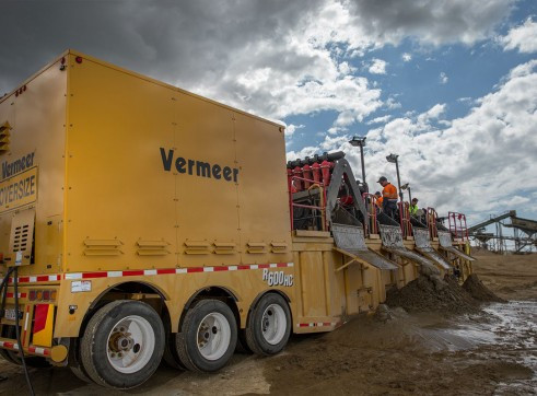 Vermeer R600HC Zone Compliant Solids Control Unit / Drilling Mud Recycler 5