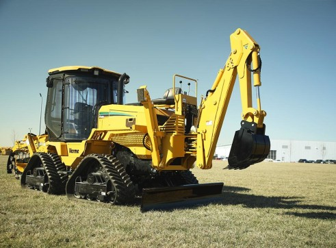 127HP Vermeer RTX1250I2 Ride-On Trencher 1