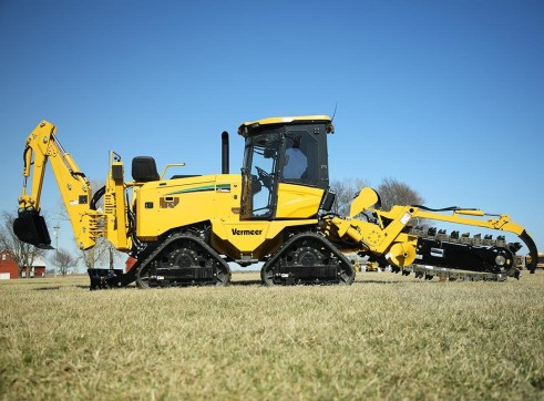 127HP Vermeer RTX1250I2 Ride-On Trencher 3