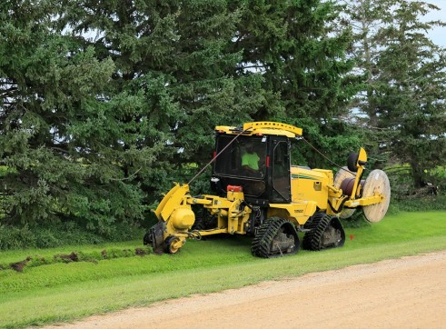 127HP Vermeer RTX1250I2 Ride-On Trencher 6