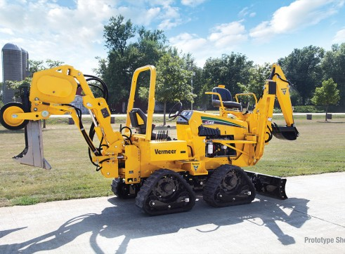 65HP Vermeer RTX450 Ride-On Trencher 6