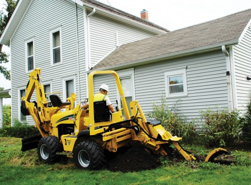 Vermeer RTX550 Ride-On Trencher 4