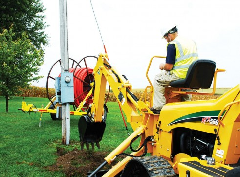 Vermeer RTX550 Ride-On Trencher 5