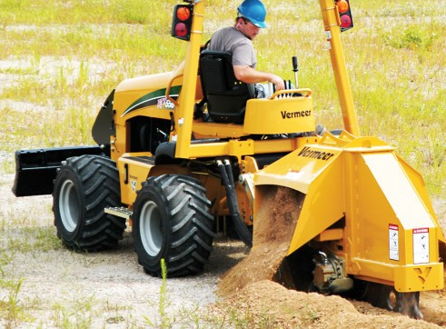 Vermeer RTX550 Ride-On Trencher 7