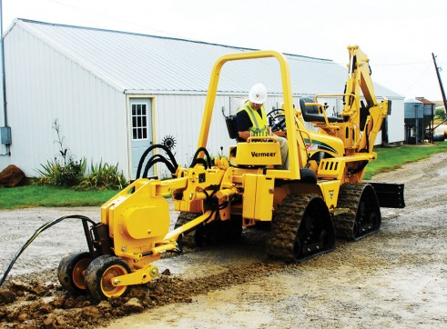 Vermeer RTX550 Ride-On Trencher 8