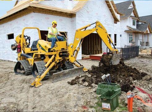 Vermeer RTX750 Ride-On Trencher 3