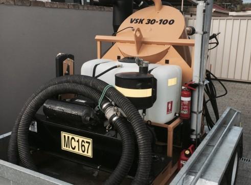 Vermeer VSK25-100G Vacuum Excavation Trailer 1
