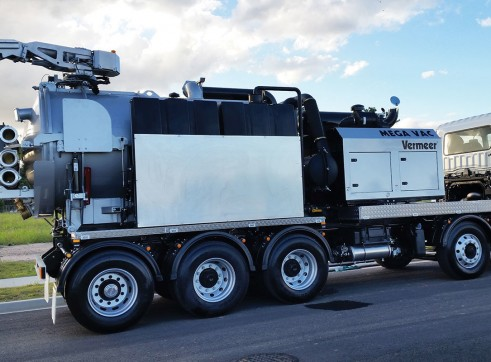 Vermer VX200 Truck-mounted Vacuum Excavators 2