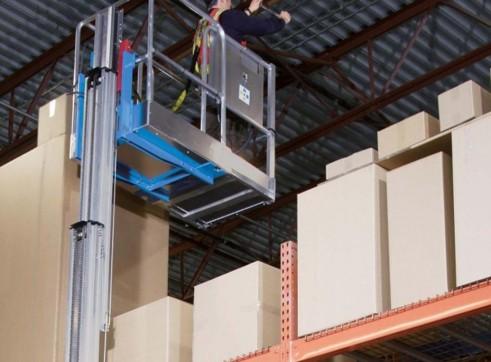 Vertical Man Lift - 4.5m (15ft) Electric Genie 5