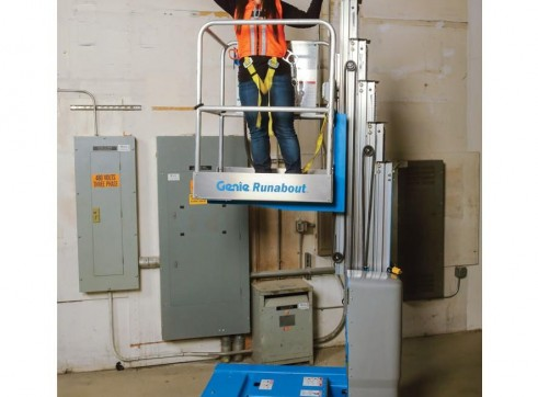 Vertical Man Lift - 6.0m (20ft) Electric Genie 1