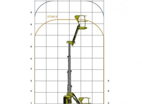 Vertical Man Lift - 8m (26ft) Electric Haulotte 4