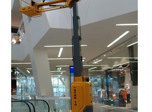 Vertical Man Lift - 8m (26ft) Electric Haulotte 1