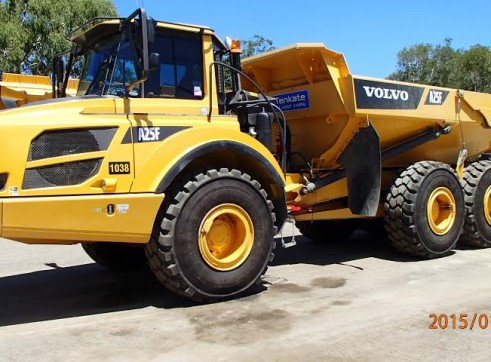 Volvo A25D/E/F - 18 Available 1