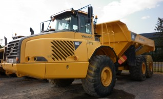 Volvo A30D Dump Trucks for hire 1