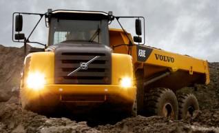 Volvo A30E Arctic Dump Truck 1