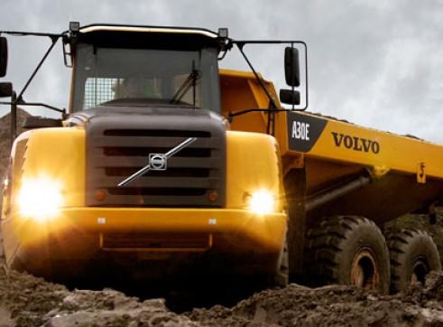 Volvo A30E Arctic Dump Truck