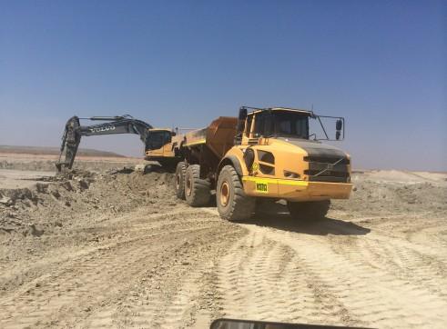 Volvo A40F Artic Dump Truck 2