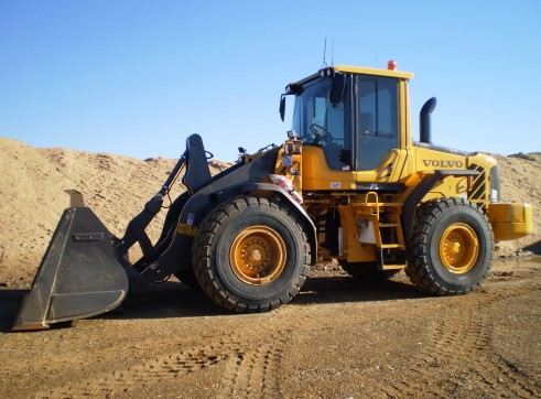 Two Volvo L90F Tool Carrier Loader 1
