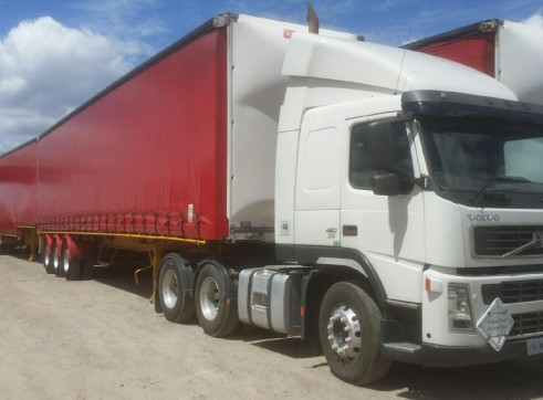 Volvo Prime Movers - autos/manuals, day and sleeper cab, B Double rated 1