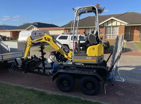 1.7T Wacker Neuson EZ17 Mini Excavator 1