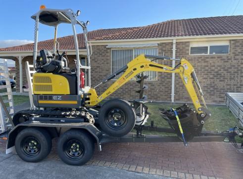 1.7T Wacker Neuson EZ17 Mini Excavator 2