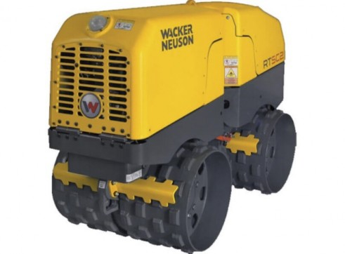 Wacker Neuson Twin Drum Padfoot Trench Roller - 1.5t 1